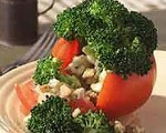 Broccoli-Stuffed Tomatoes