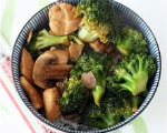 Broccoli and Mushroom Salad