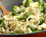 Broccoli and Noodle Bake