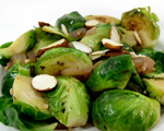Brussels Sprouts with Basil