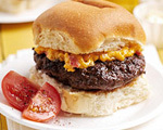 Burgers with Pimento Cheese