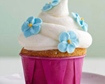 Butter Cupcakes with Sour Cream Frosting