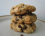 Butterscotch and Chocolate Chip Cookies