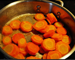 Buttery Glazed Carrots with a Touch of Maple