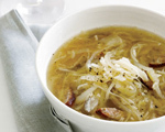 Cabbage, Kielbasa and Rice Soup