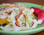 Cabbage, Radish and Orange Salad