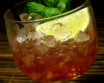 Campari Swizzle Cocktail