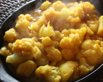 Cauliflower and Potatoes with Indian Spices