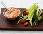 Cheddar and Roasted Red Pepper Spread