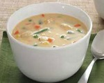 Cheddar-Chicken Soup