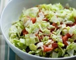 Cheese and Ham Layered Salad