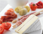 Cheese and Prosciutto Antipasto Plate