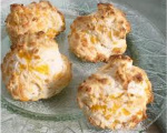 Crispy Bacon Cheese Biscuits