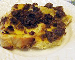 Cheese and Sausage Strata