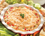 Spicy cheesy chicken dip
