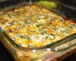 Cheesy Spinach