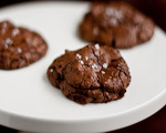 Chunky Chocolate Cherry Cookies