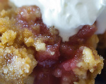 Baked Cherry Crisp