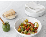 Cherry Tomato and Bocconcini Salad with Pesto