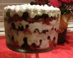 Cherry Vanilla Trifle