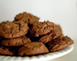 Chewy Brownie Drop Cookies