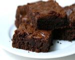 Chewy Dark Chocolate Brownies