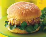 Chicken and Apple Burgers