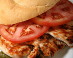 Chicken Pizza Sandwich 