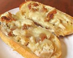 Chicken Pizza Bread