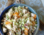 Chicken Salad with Dried Fruit and Quinoa