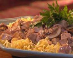 Chicken Livers Stroganoff