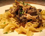 Chicken Stroganoff
