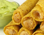 Homemade Chicken Taquitos