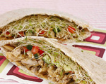 Chicken Teriyaki Pita Pockets