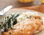 Chicken with White Wine Sauce