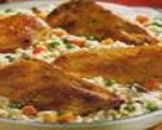 Chicken and Garlic Risotto