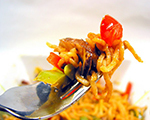 Chinese Noodles, Chicken and Vegetable Medley