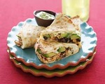 Chipotle Chicken and Avocado Quesadillas 