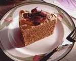 Chocolate chiffon dessert