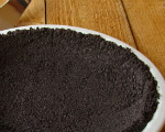 Chocolate Cookie Crumb Crust