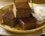 Chocolate Gingerbread Squares