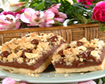 Chocolate Pecan Crumb Bars
