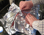 Chuck Roast in Foil
