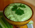 Cilantro and Almond Dip