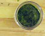 Cilantro-Infused Oil