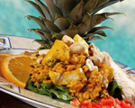Citrus Curried Chicken & Wild Rice Salad
