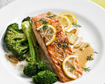 Citrus Salmon with Broccoli