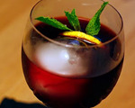 Claret Lemonade Cocktail