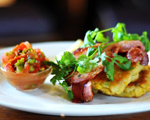 Classic Corn Fritters with Salsa