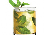 Cognac Mint Julep Cocktail